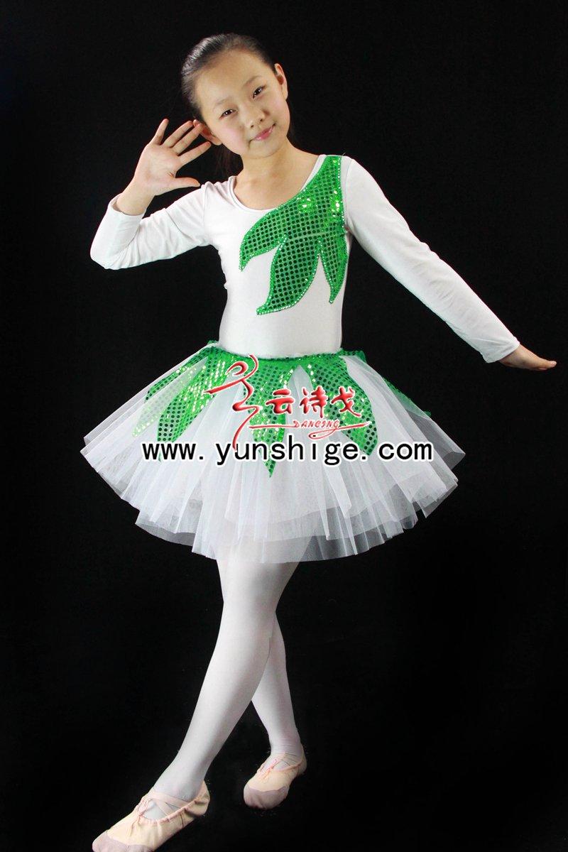儿童舞蹈服芭蕾小纱裙sq102