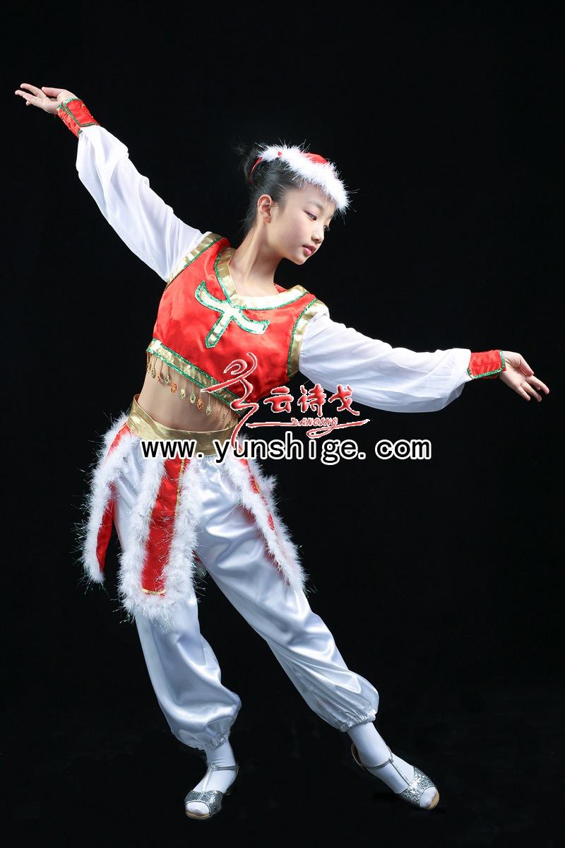 儿童56个少数民族服装儿童满族zzgt02藏族