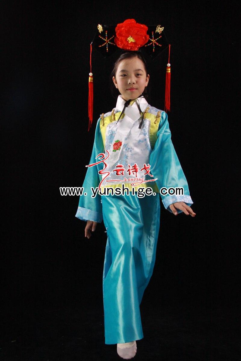 儿童中式满族服装60506
