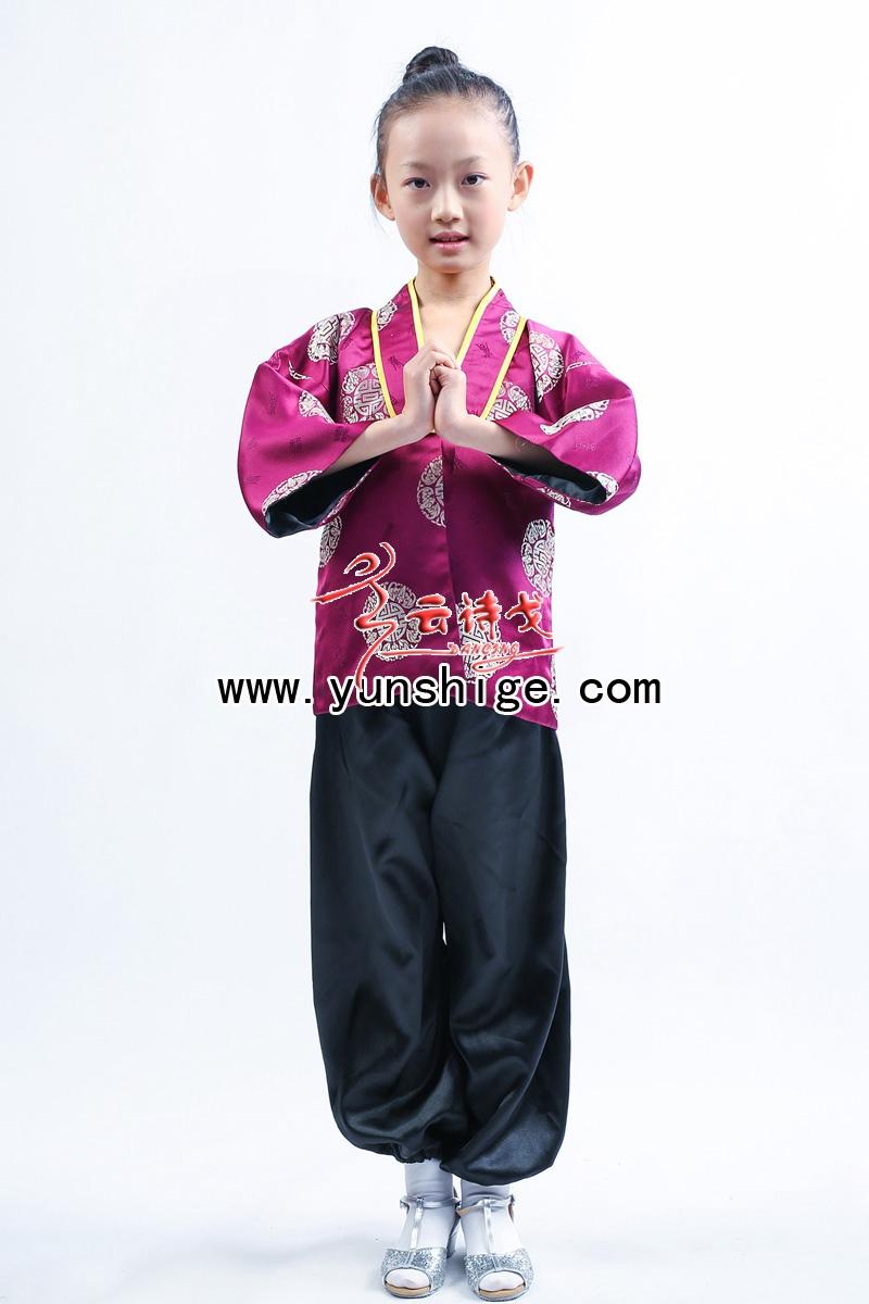 儿童中式满族服装zsgt14