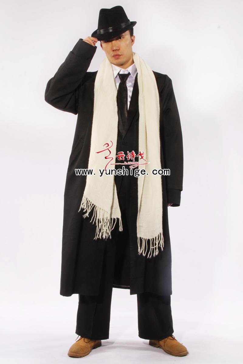 老上海服装民国服装七八十年代服装风衣fy05许文强