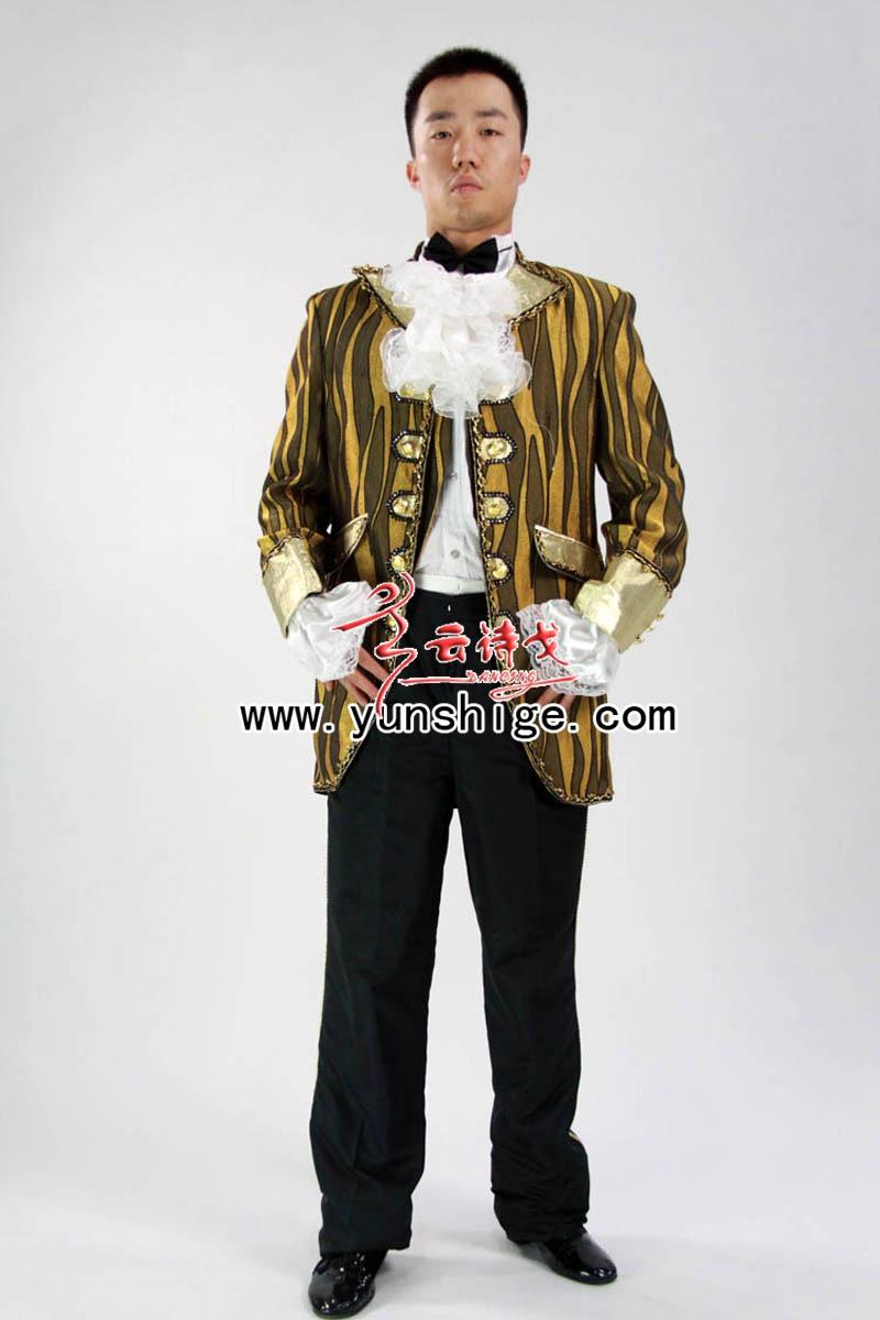 外国服装西欧宫廷男装王子伯爵服装xob99
